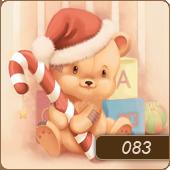 قالب وبلاگ خرس کریسمس